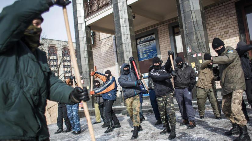 МВД Украины: Стрельбу в Харькове открыли радикалы из «Правого сектора»