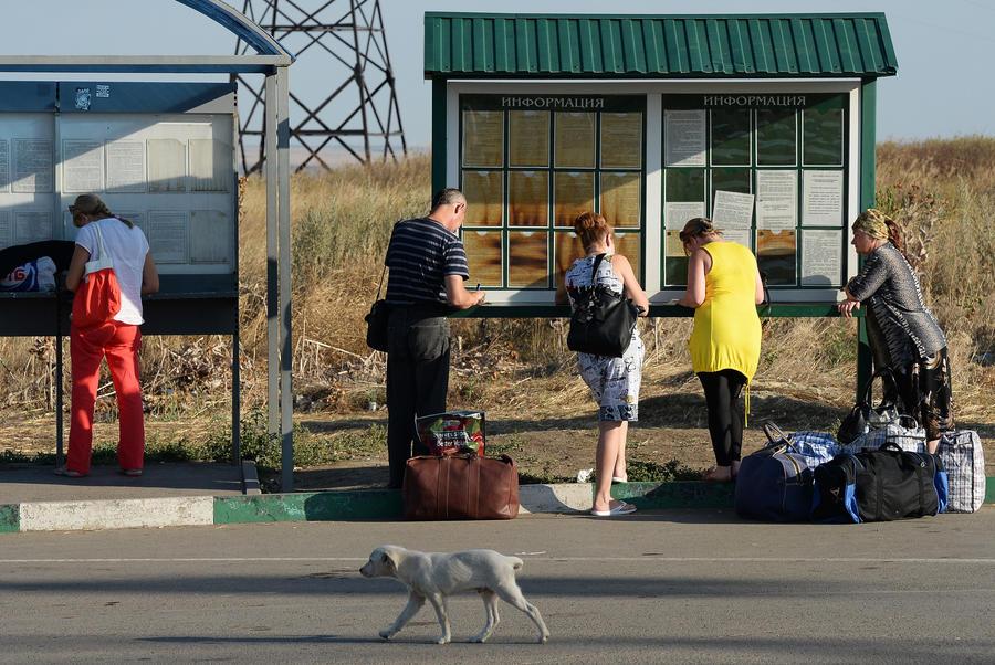 Украина вновь ужесточила правила пересечения границы для россиян