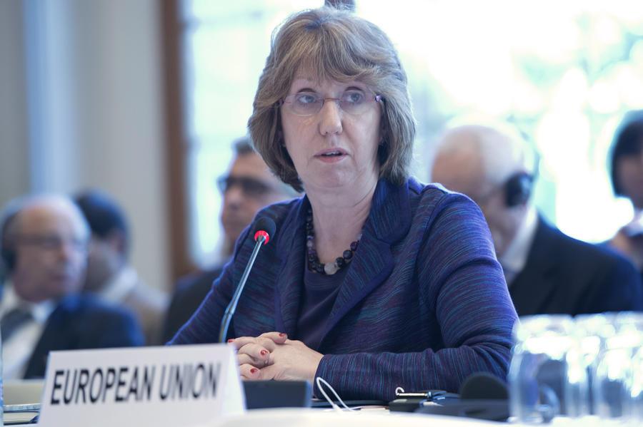 Кэтрин Эштон планирует сегодня обсудить с Сергеем Лавровым ситуацию на Украине