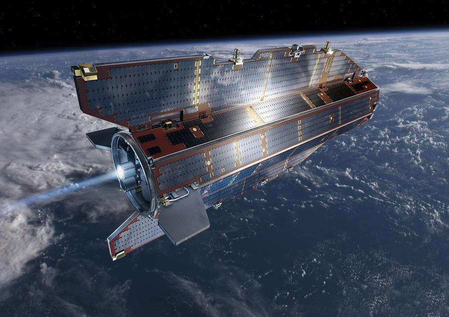 Фрагменты европейского спутника упадут на поверхность Земли за пределами России