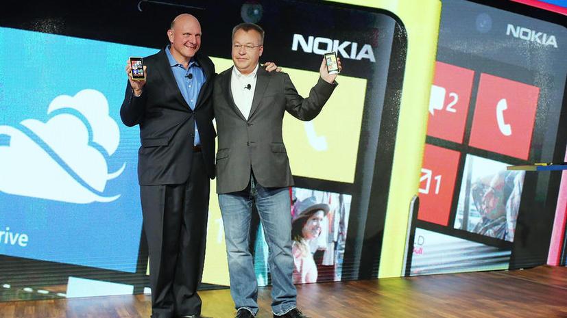 Microsoft покупает телефонный бизнес Nokia за €5,44 млрд