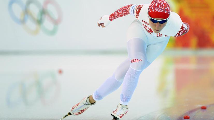 Ольга Граф принесла России первую медаль Игр в Сочи