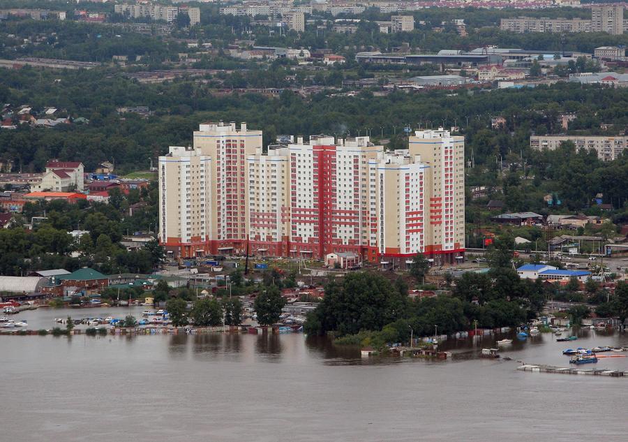 На Дальнем Востоке готовятся к дальнейшему подъёму уровня воды в Амуре
