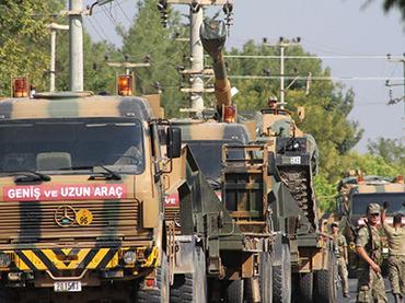 Турция вновь обстреляла территорию Сирии