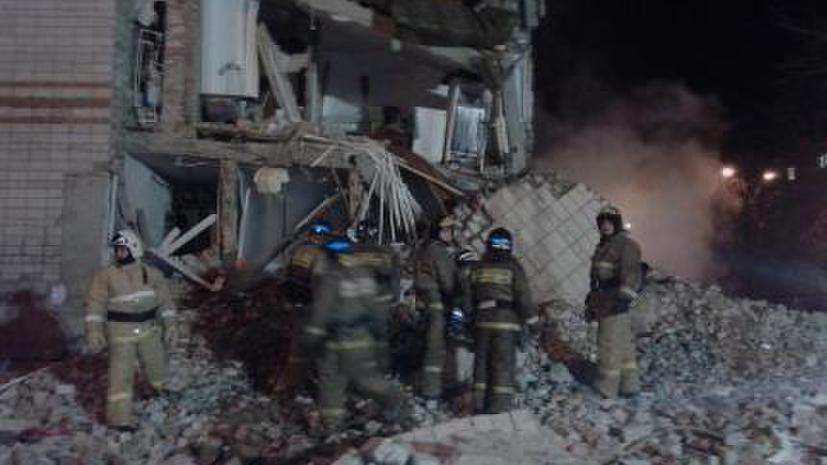 МЧС РФ: При обрушении части жилого дома в Тюмени пострадали три человека