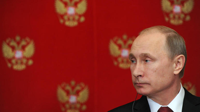 Владимир Путин урезал зарплату себе и Дмитрию Медведеву на 10%