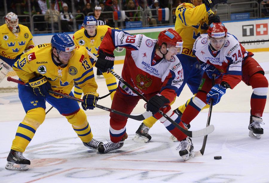 Сборная России победила шведов в матче открытия Кубка Первого канала