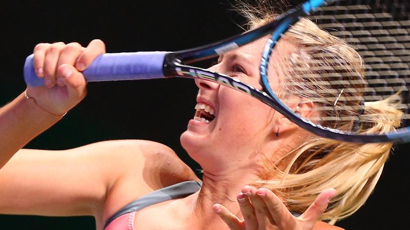 Мария Шарапова одержала вторую победу в Стамбуле
