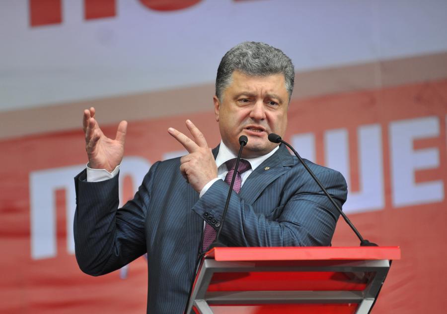 На Украине, по данным exit poll, Пётр Порошенко выигрывает президентские выборы в первом туре