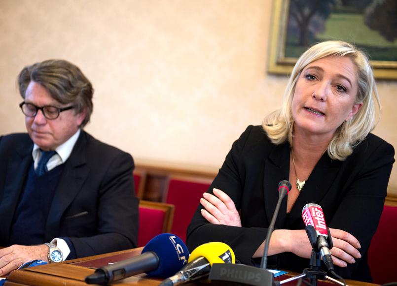 Взгляды Марин Ле Пен могут признать экстремистскими во Франции