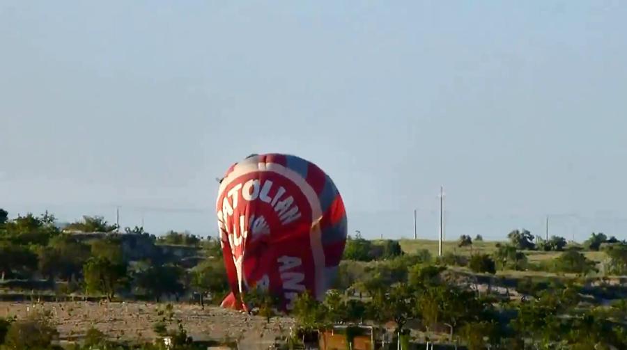 Трагедия длиной в 300м: В Турции упал воздушный шар с туристами, погибли двое