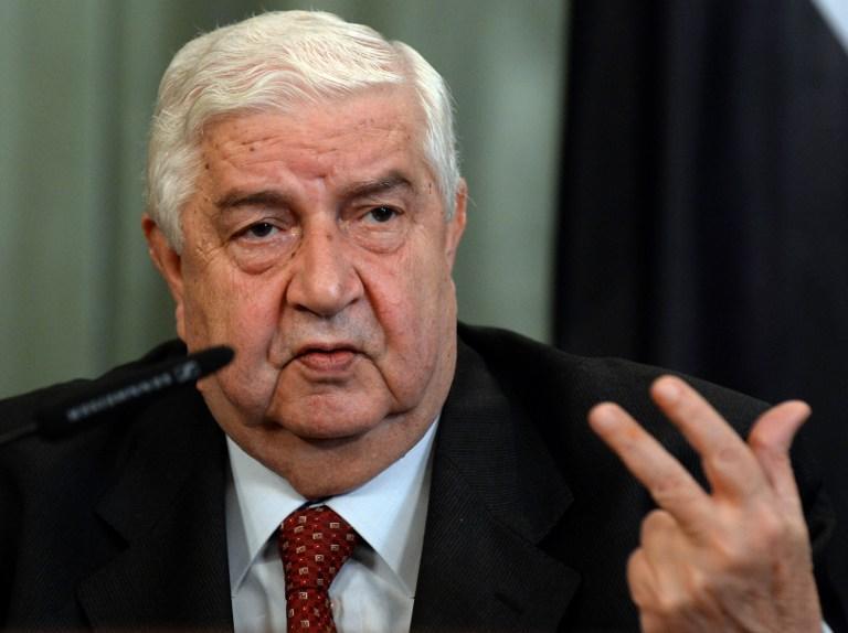 Глава МИД Сирии: в стране воюют террористы из 83 государств