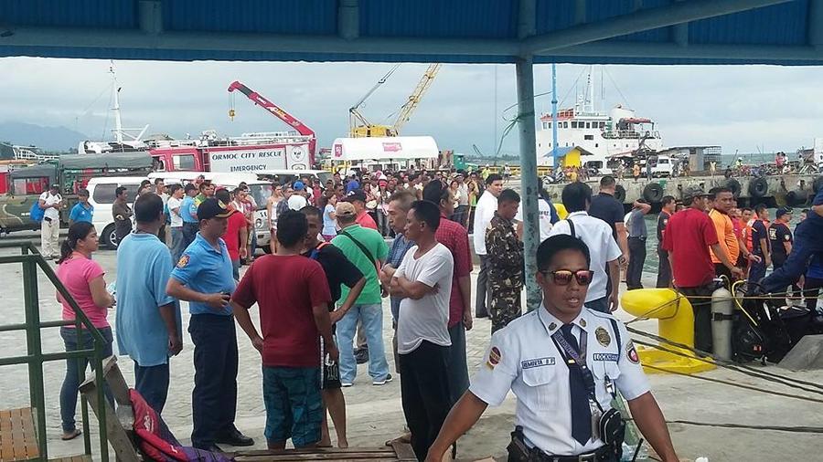 Крушение пассажирского парома у берегов Филиппин — хронология событий