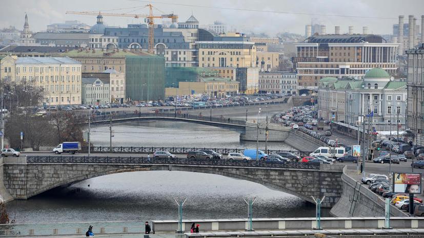 Московские набережные могут закрыть для автомобилей