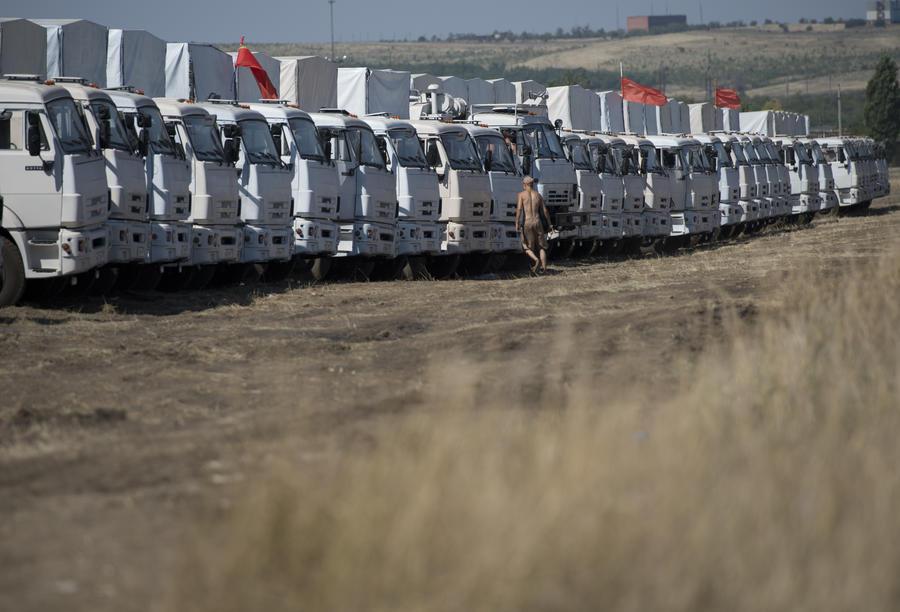 Киев признал российский груз под эгидой Международного комитета Красного креста гуманитарной помощью