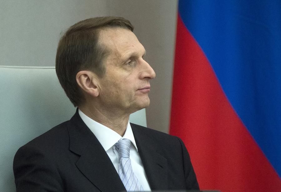 Сергей Нарышкин: Запад не замечает национализма и воинственных настроений Киева