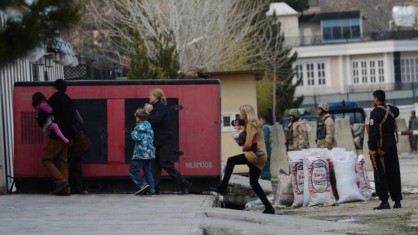 Группа боевиков атаковала гостиницу для иностранцев в центре Кабула