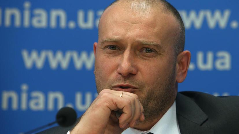 Лидер «Правого сектора» Дмитрий Ярош намерен узаконить на Украине частные военные компании