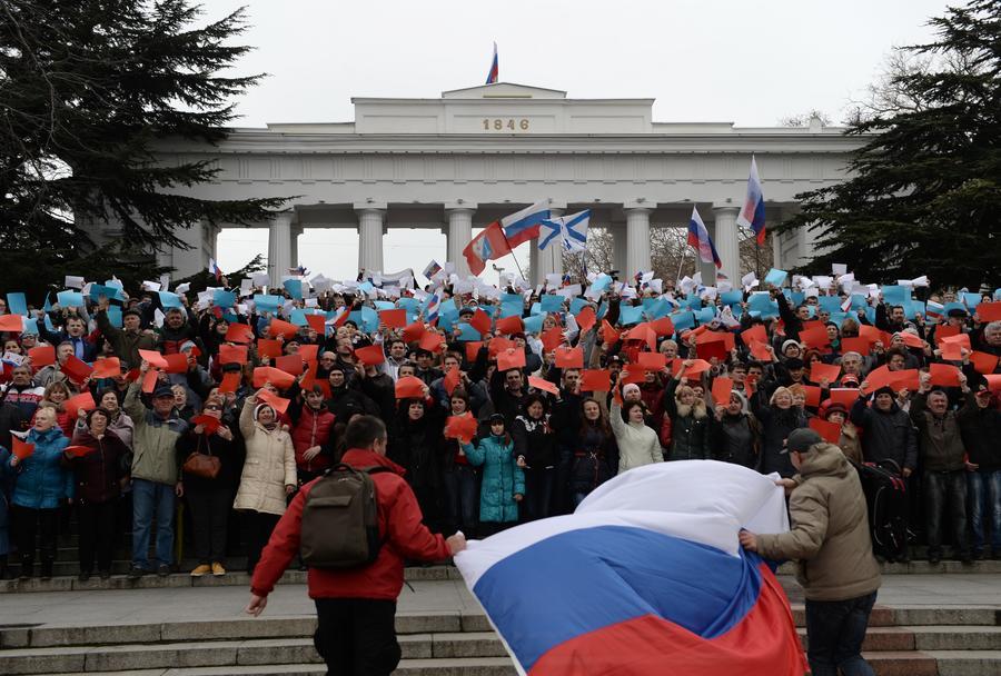 Американские СМИ: Жители Крыма рады, что Россия «аннексировала» полуостров