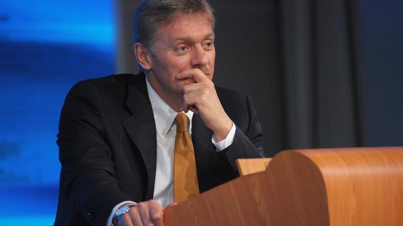 Дмитрий Песков: Владимир Путин с большой обеспокоенностью наблюдает за развитием ситуации на Украине