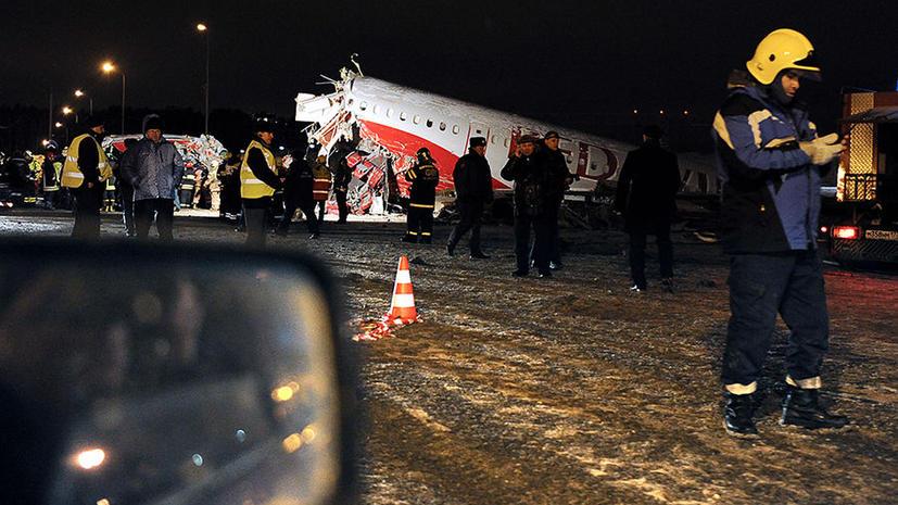 МАК: У разбившегося во Внуково самолета отказал реверс