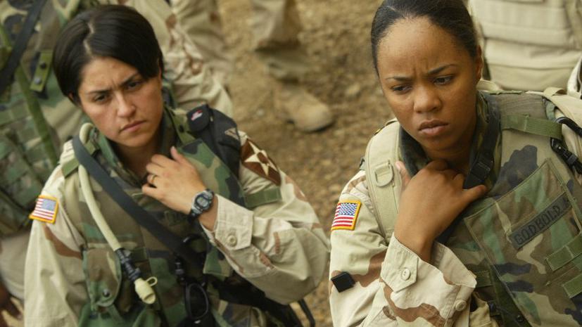 Правозащитники обвиняют Пентагон в дискриминации женщин
