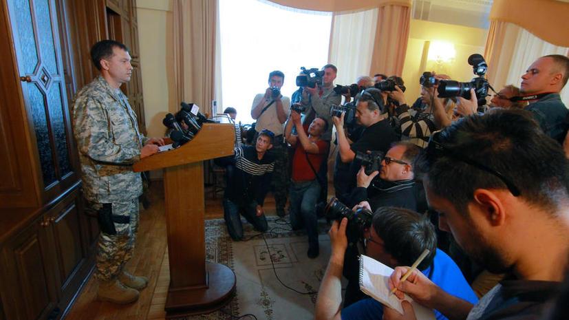 В результате покушения ранен народный губернатор Луганской области Валерий Болотов