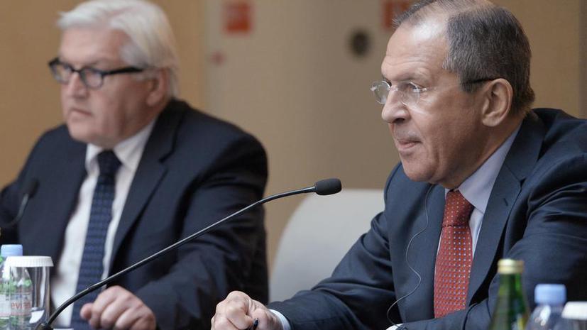 Главы МИД РФ, Германии, Франции и Украины выработают новую «дорожную карту» по ситуации в Донбассе