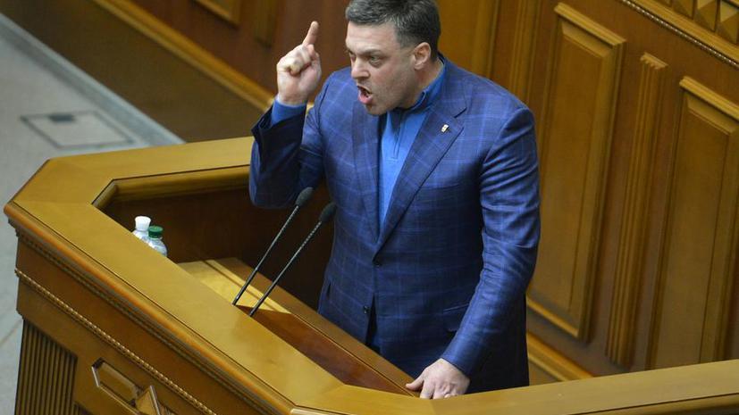 Партия «Свобода» инициирует запрет трансляции ряда российских каналов на Украине