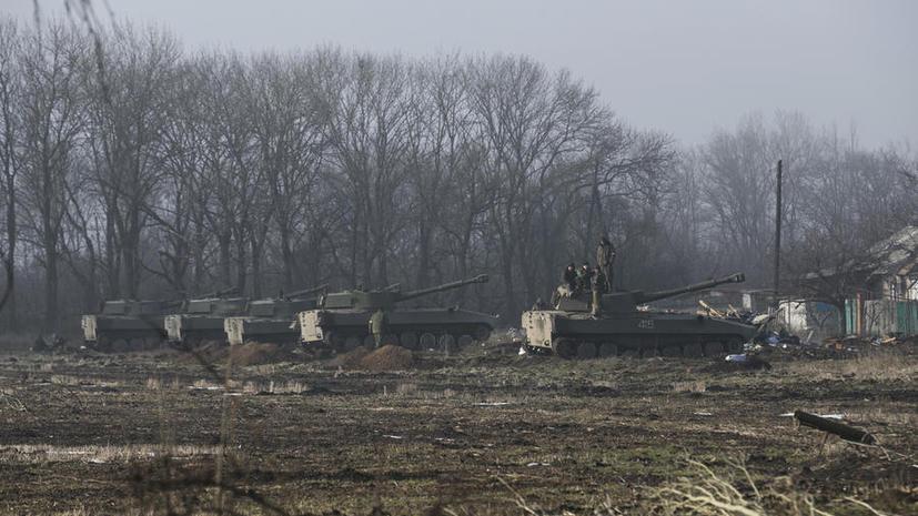 Обе стороны украинского конфликта объявили о прекращении огня
