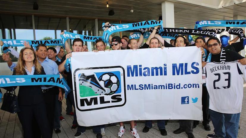 Дэвид Бекхэм представил макеты будущего стадиона его футбольного клуба в Майами