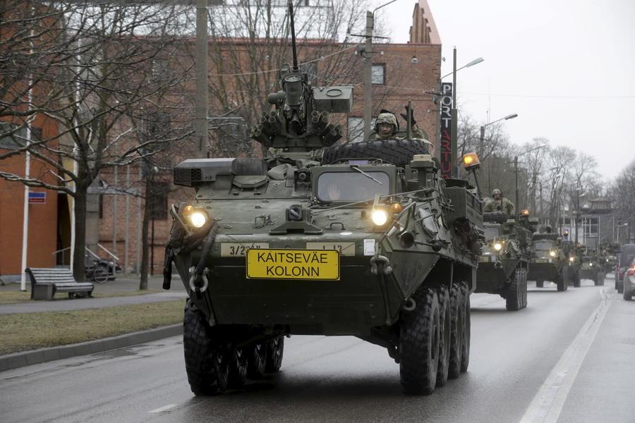 СМИ: Американский военный марш по Европе показал отсталость США