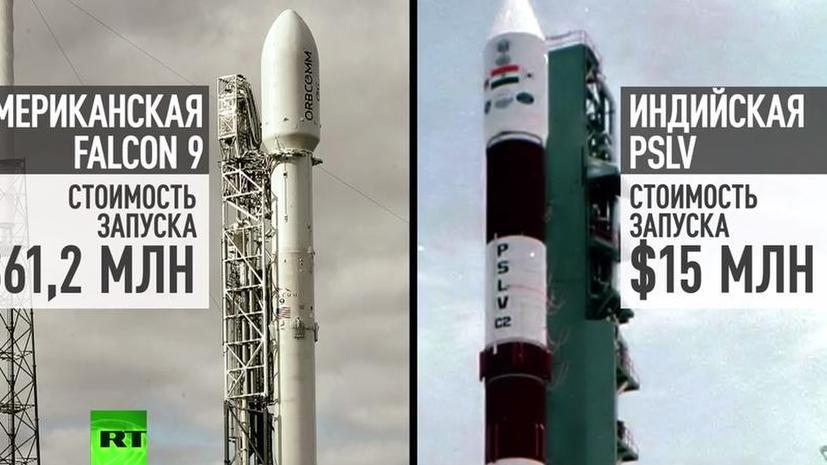Американцы встревожены успехом дешёвых индийских ракет-носителей