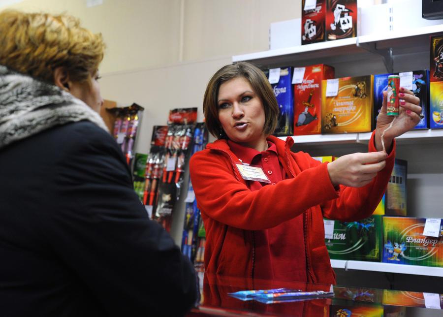 Новый закон может оставить россиян без новогодних фейерверков