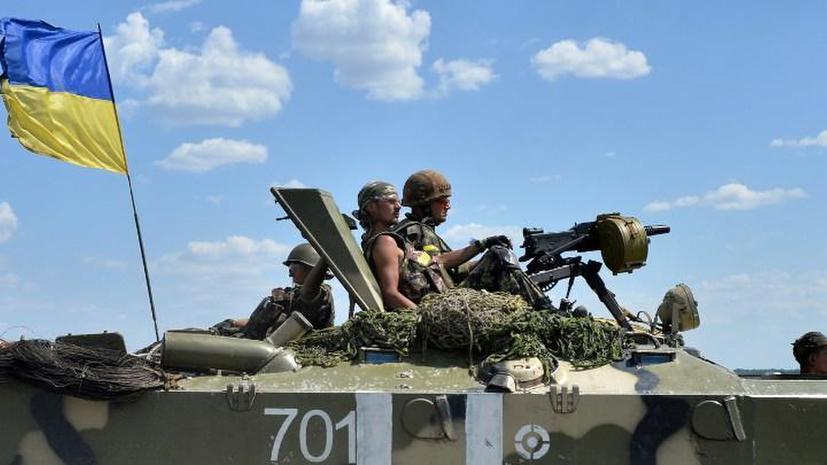 Украинские военные вновь обстреляли территорию России