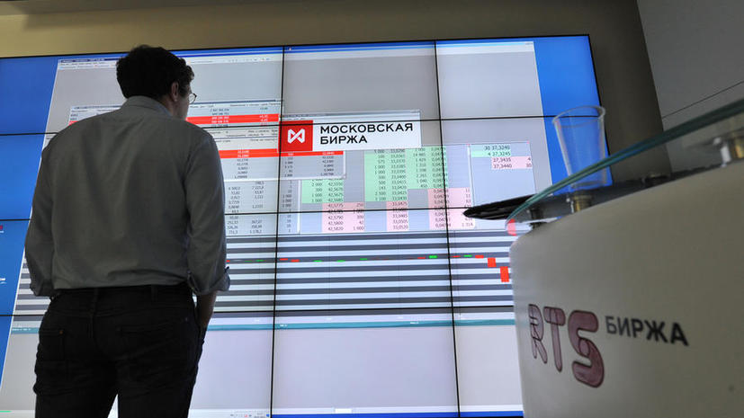 Российский рынок акций открылся обвалом индексов ММВБ и РТС на фоне новых санкций