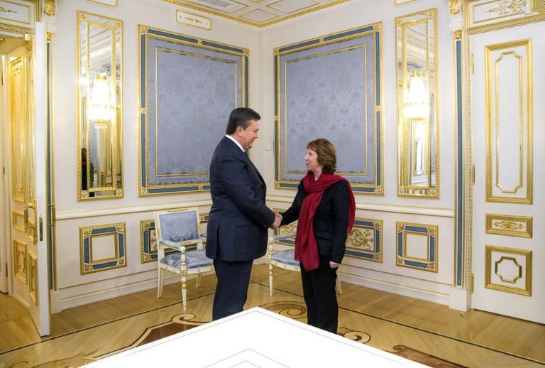 Журналисты из России не были допущены на брифинг главы дипломатии Евросоюза Кэтрин Эштон в Киеве
