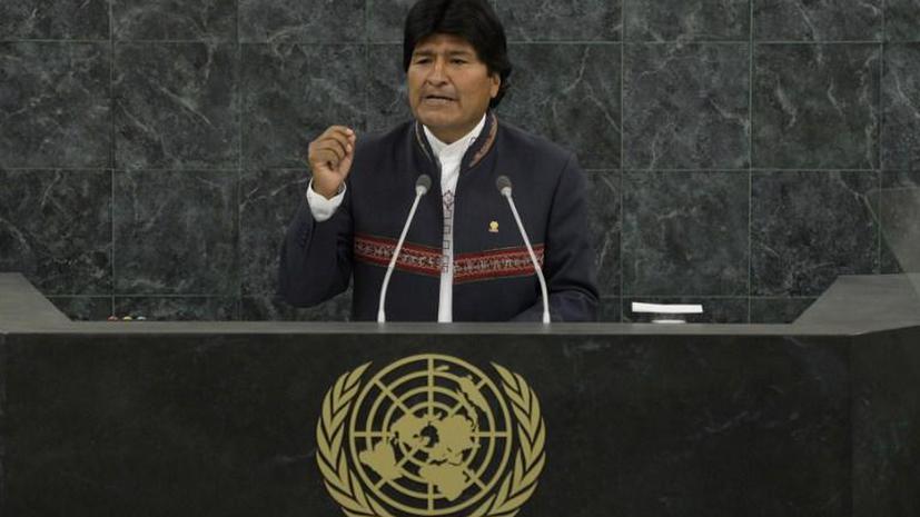 Эво Моралес: США угрожают всем странам, где есть источники энергии, особенно газ и нефть