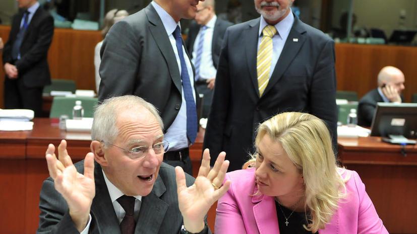 Министры финансов ЕС не смогли договориться о едином механизме спасения банков
