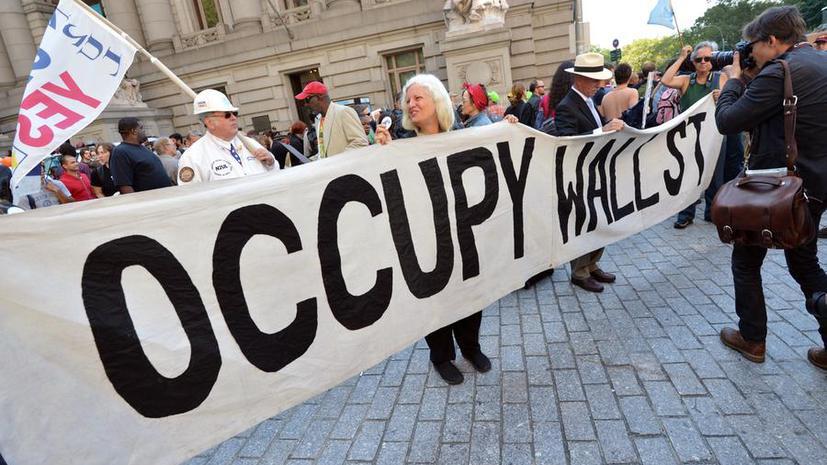 Организация Occupy Wall Street отсудила у Нью-Йорка $350 тыс.