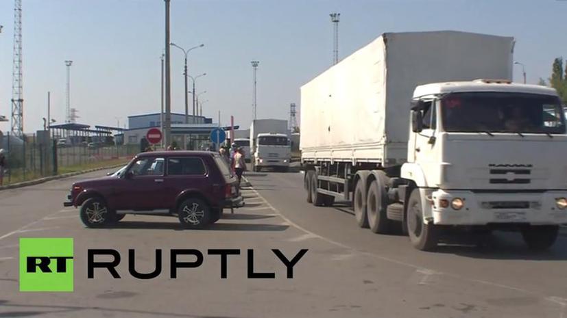 Все автомобили из колонны «белых КамАЗов» вернулись в Россию