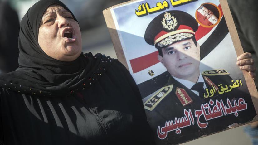 Министр обороны Египта баллотируется на пост президента страны