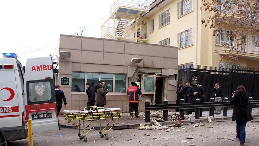 Взрыв у посольства США в Анкаре - двое погибших