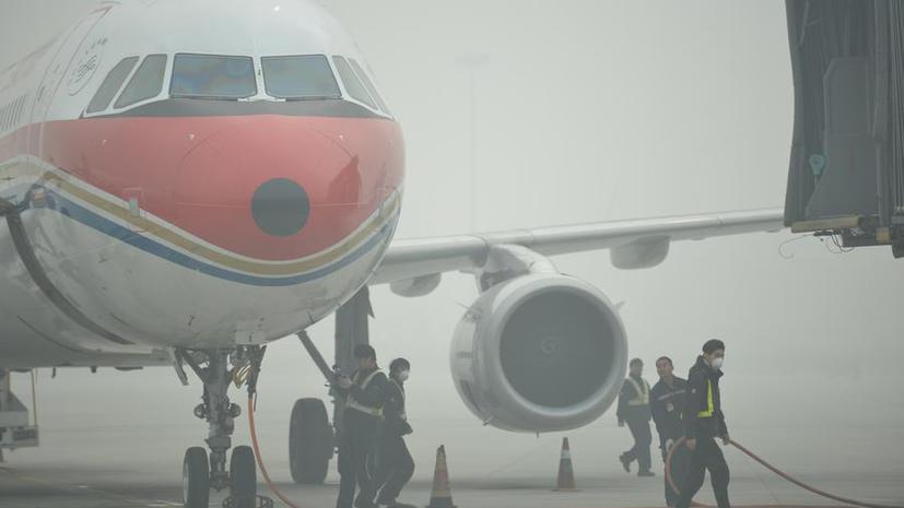 Из-за смога китайские пилоты будут учиться сажать самолёты вслепую