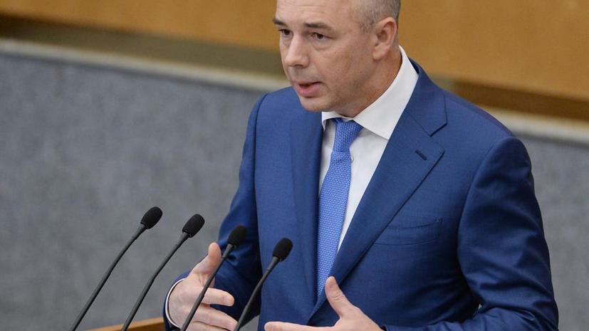 Антон Силуанов: Россия может потерять около $140 млрд из-за западных санкций и падения цен на нефть