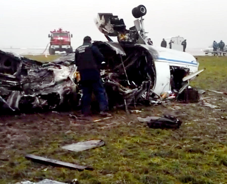 Катастрофой во Внукове займётся следователь, который вёл дело о крушении самолёта Леха Качиньского
