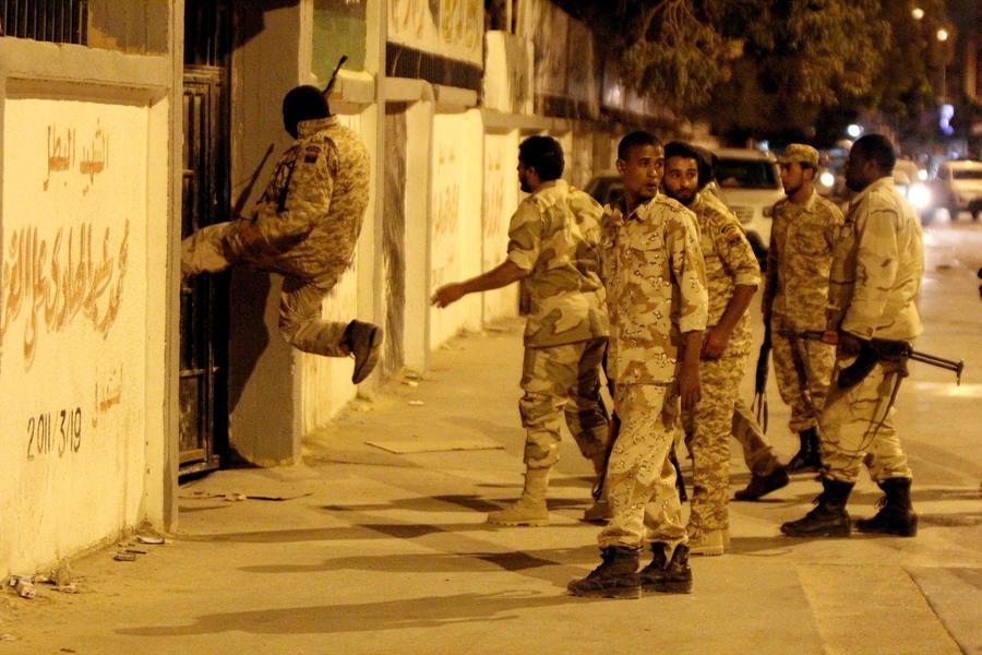 В Ливии освобождены египетские дипломаты