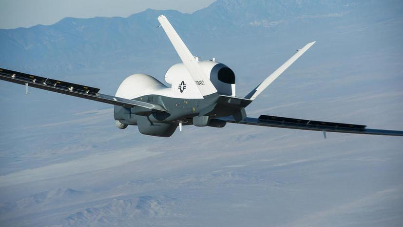 Сирийские военные заявили о первом сбитом средствами ПВО американском беспилотнике