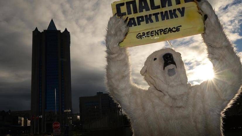 Опрос: россияне поддержали действия властей в отношении экологов Greenpeace
