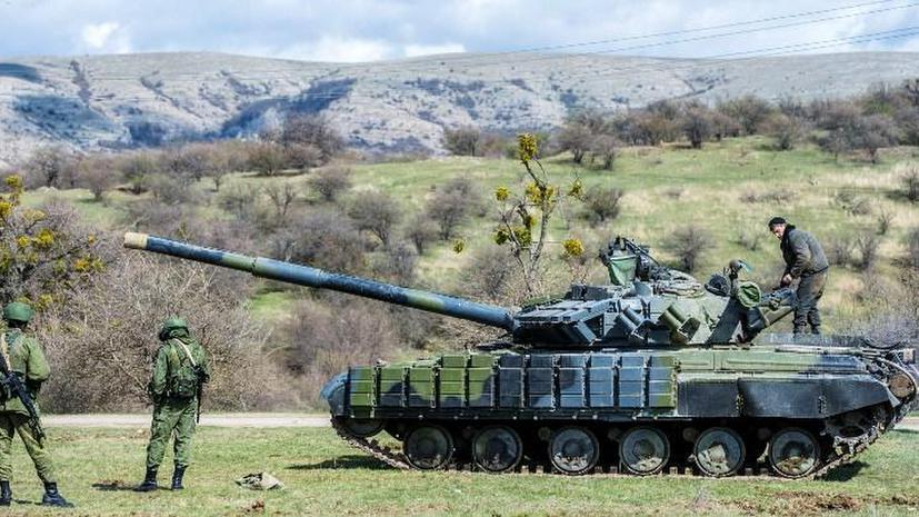 Украина вывезла из Крыма военной техники на $1 млрд